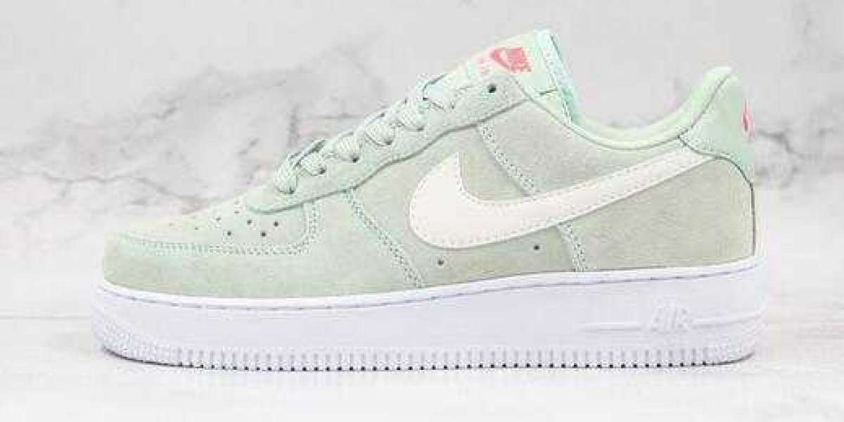 2020 Nike Air Force One Mint Green Frost for Sale