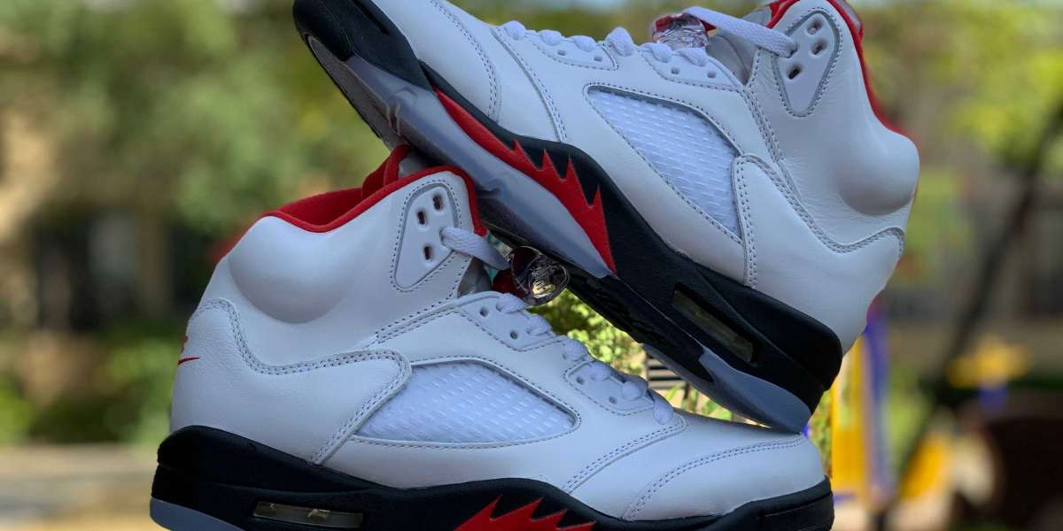 """New Air Jordan 5 """"Fire Red"""" To Release On April 25th"""