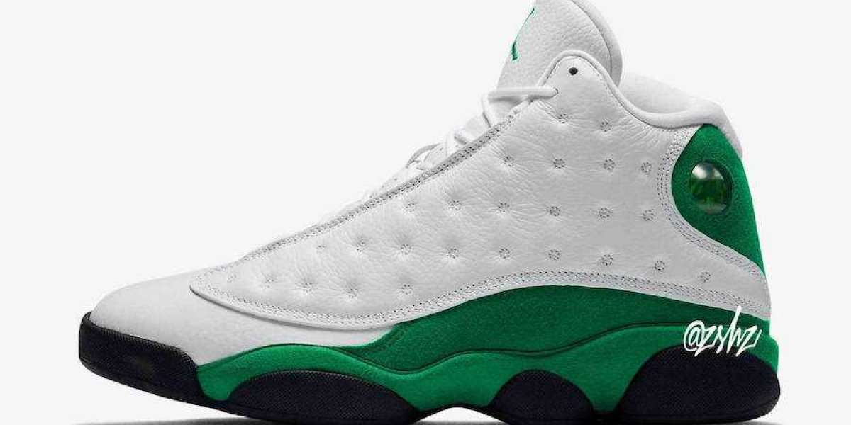 "2020 New Air Jordan 13 ""Lucky Green"" 414571-113 Will Release on July 4th"