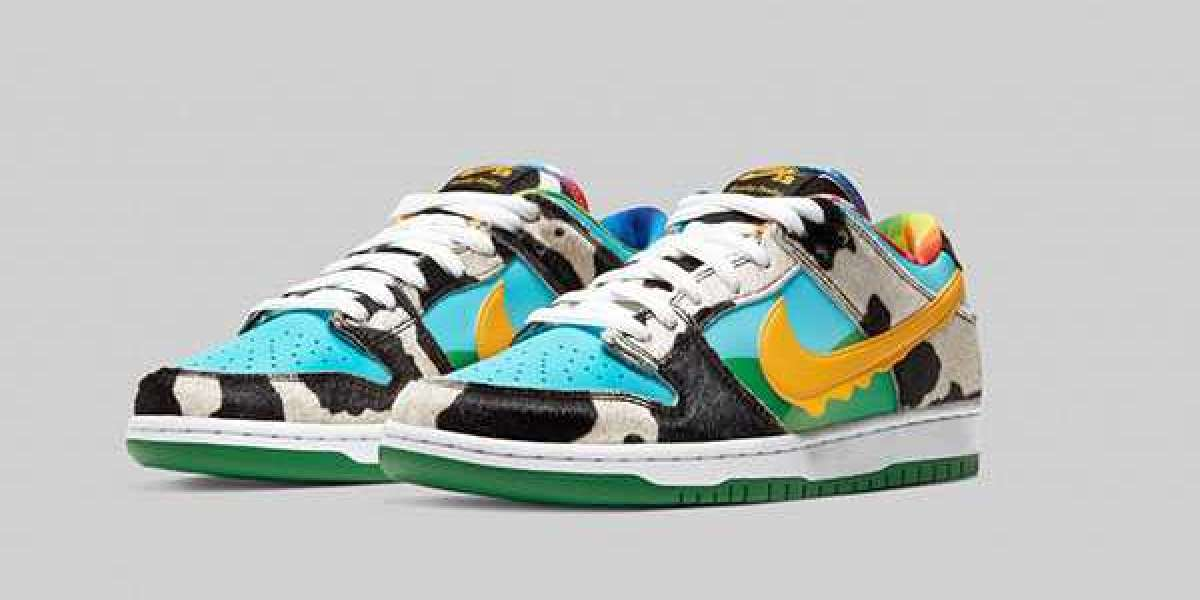 """2020 Ben & Jerry's x Nike SB Dunk Low """"Chunky Dunky"""" Arrive On May 26th"""