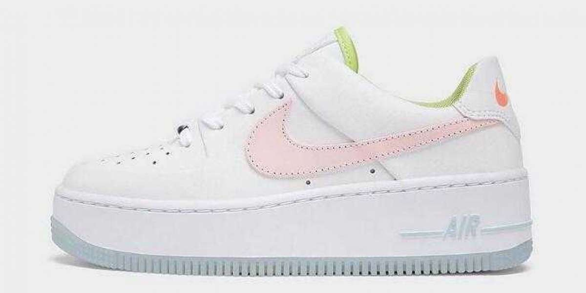 CW5566-100 Nike Air Force 1 Sage Pink Quartz Arrive Now
