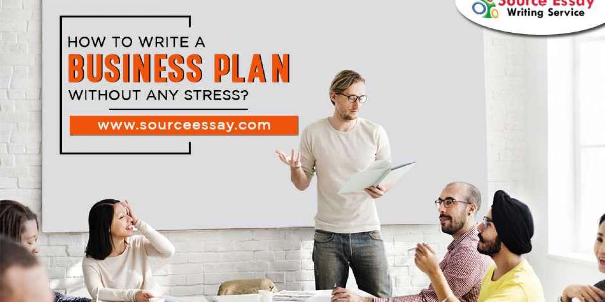 How To Write A Business Plan Without Any Stress?