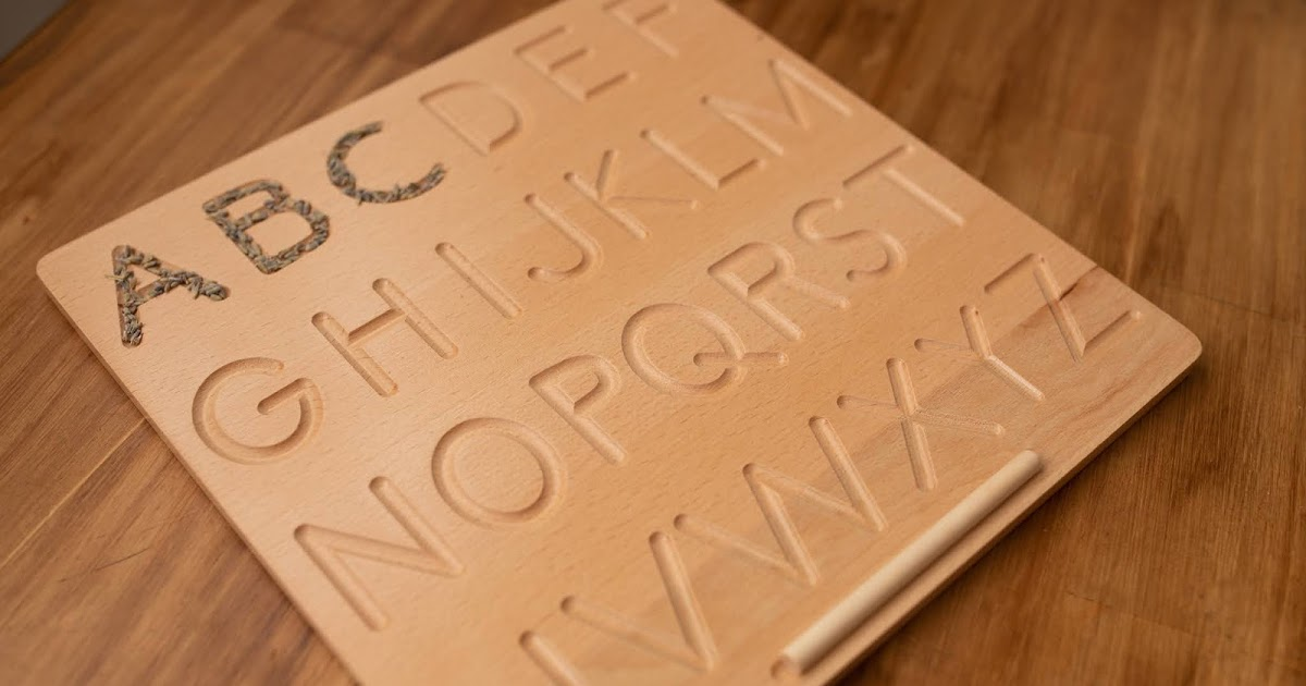 ABCD Wooden Board — Help Your Kid's Brain Develop Faster!