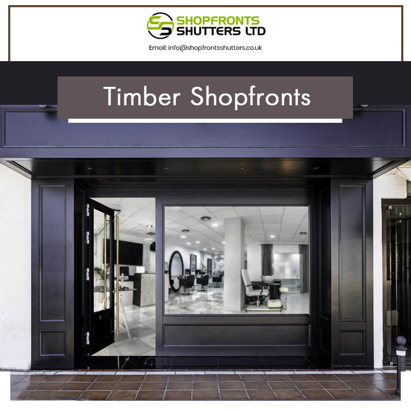 Timber with aluminium Shopfronts in London – Site Title