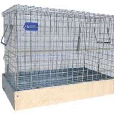 1 Hole Rabbit Carrier/Transport Cage - 3 Sizes Profile Picture