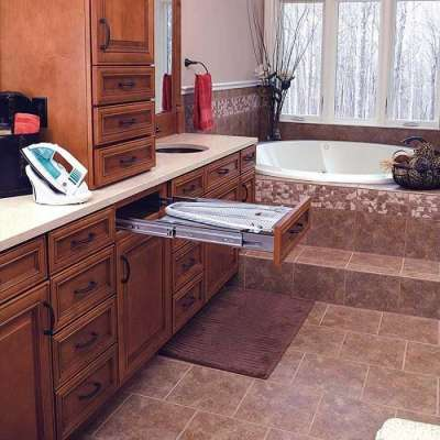 Pull Out Drawer Built In Ironing Board Profile Picture